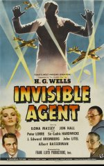 Invisible Agent [1942] [DVD]