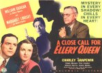 A Close Call for Ellery Queen [1942] [DVD]