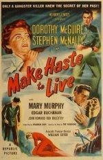 Make Haste To Live [1950] dvd