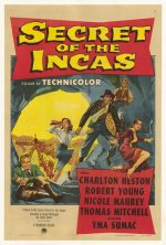 Secret of the Incas [1954] [DVD]