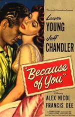 Because of You [1952] dvd