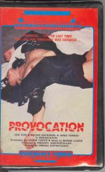 Provocation [1970] dvd