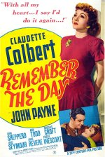 Remember the Day [1941] [DVD]
